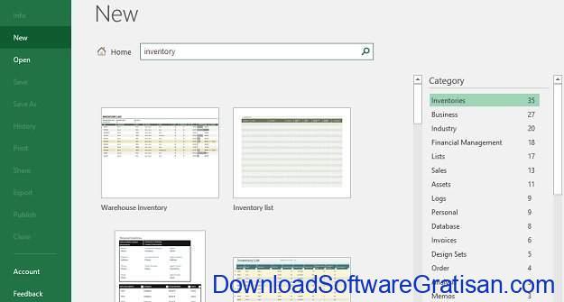 Cara Bikin Stok Barang Menggunakan Microsoft Excel Template