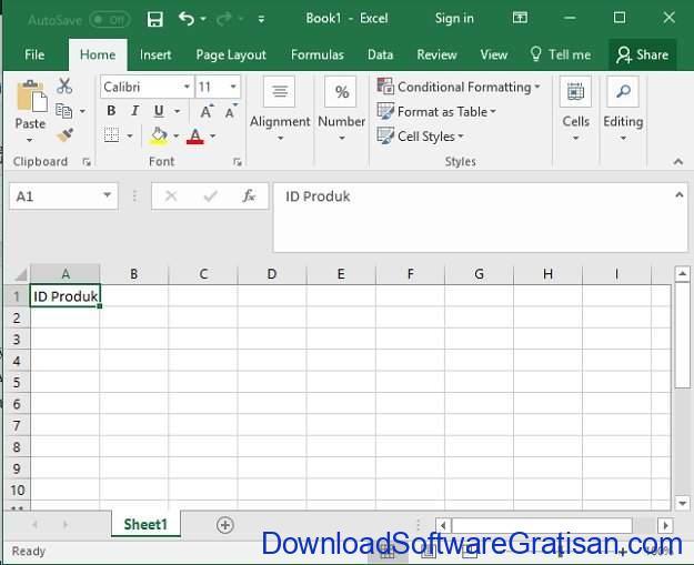 Cara Bikin Stok Barang Menggunakan Microsoft Excel di PC Langkah 2