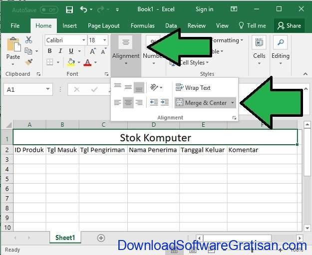 Cara Bikin Stok Barang Menggunakan Microsoft Excel di PC Langkah 7