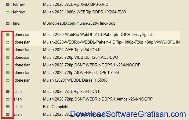 Cara Download Subtitle Indonesia dari Subscene - SS5