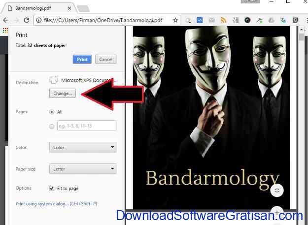Cara Memisahkan PDF Menggunakan Google Chrome Langkah 3
