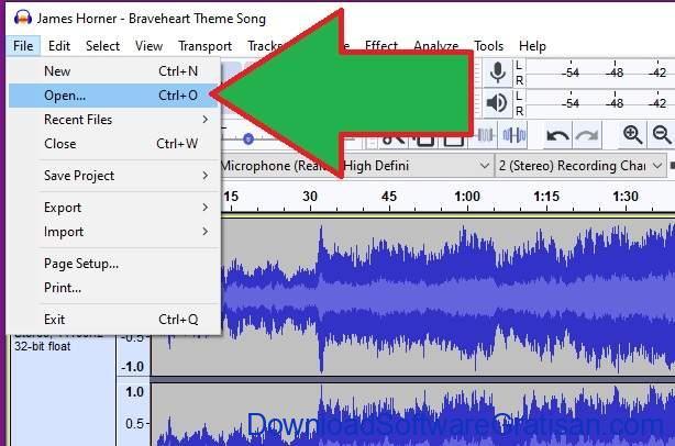 Cara Mengkompres File Besar - Format Sound Audacity 1