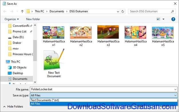 Cara Mengunci Folder di Laptop & PC Windows - Step 4
