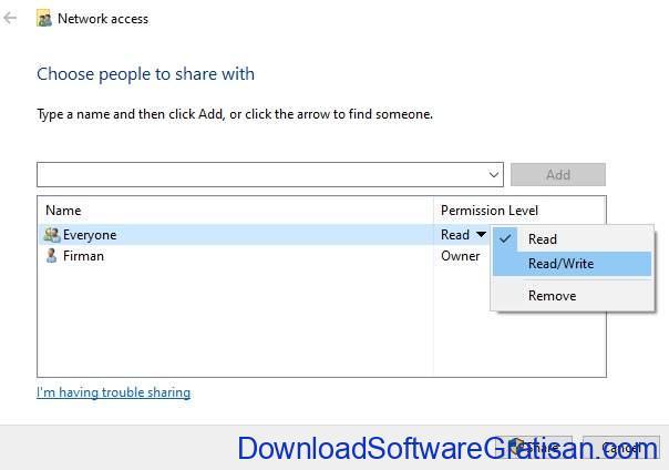 Cara Pengaturan Share File di Jaringan Windows - ss6