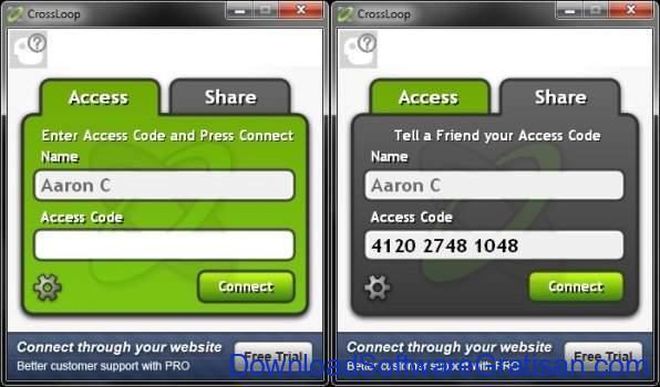 Aplikasi Screen Sharing CrossLoop