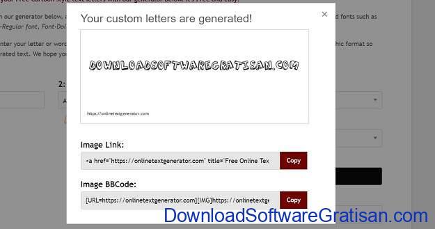 Desain Tulisan Online Gratis Terbaik - Calligraphy