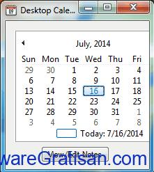 Aplikasi Kalender Gratis Terbaik untuk PC Desktop Calendar