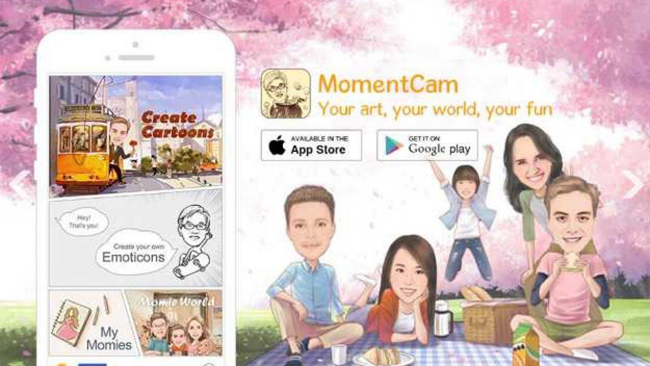Download Aplikasi Karikatur Wajah Gratis Momentcam 2020