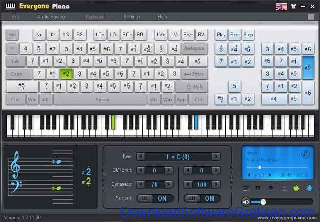 Download Aplikasi Piano Gratis untuk PC Everyone Piano