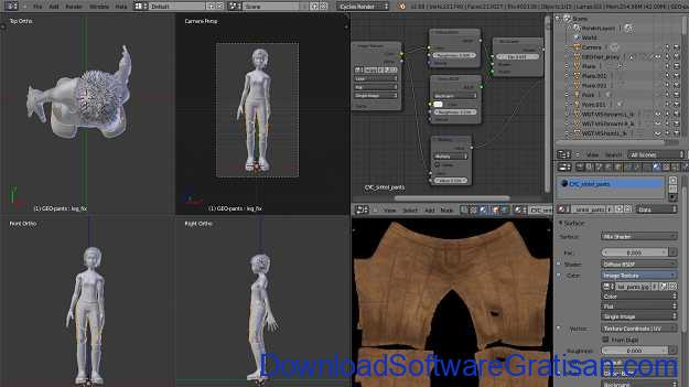 Download Blender Terbaru Aplikasi Rendering & Pemodelan 3D