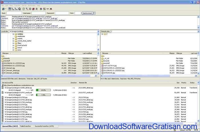 Download FileZilla Terbaru Aplikasi FTP Gratis untuk PC