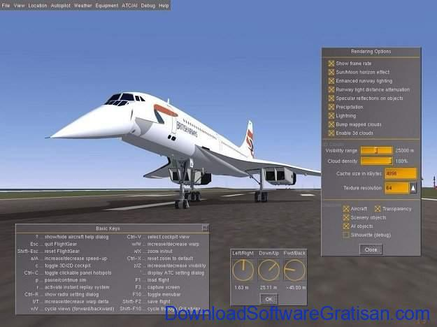 Download Game Simulator Penerbangan untuk PC FlightGear