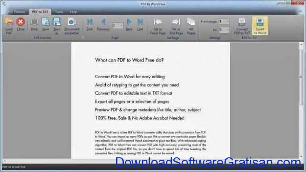 Download PDF to Word Free Aplikasi untuk Convert PDF ke Word