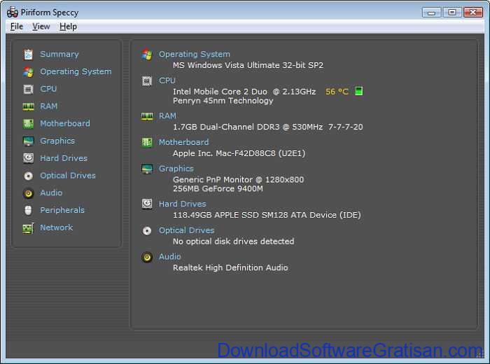 Download Speccy Terbaru Aplikasi Informasi Sistem Komputer