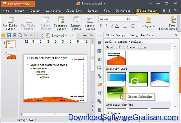 Download WPS Office Terbaru Aplikasi Office Gratis utnuk PC Presentation