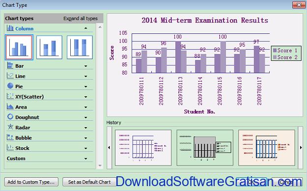 Download WPS Office Terbaru Aplikasi Office Gratis utnuk PC Spreadsheet
