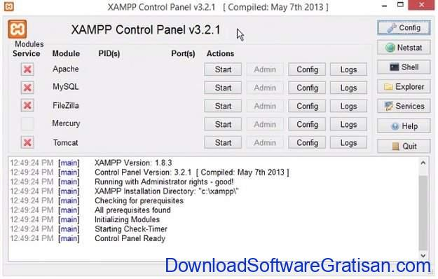 Download XAMPP Aplikasi Membuat Web Server Apache