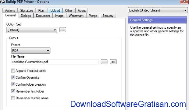 Driver Printer PDF Gratis Terbaik - BullZIP