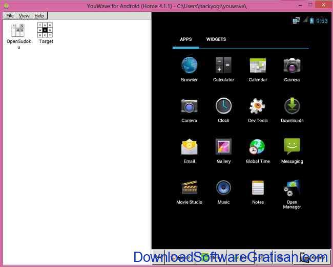 Emulator Android Gratis untuk PC YouWave