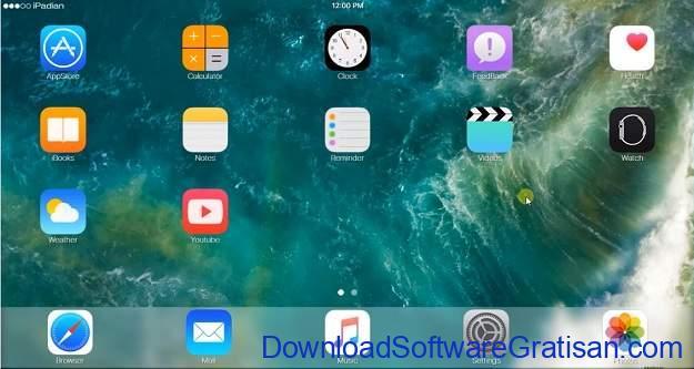 Emulator iOS Terbaik untuk PC Windows IPadian