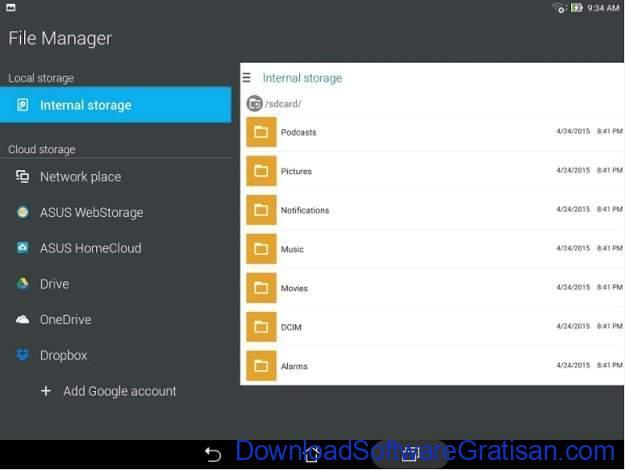 File Manager Gratis Terbaik untuk Android ASUS File Manager