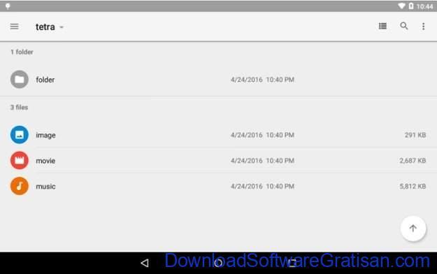 File Manager Gratis Terbaik untuk Android Tetra Filer