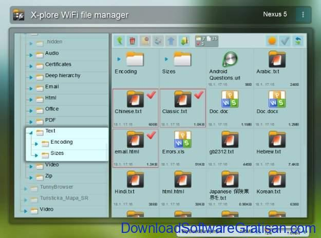 File Manager Gratis Terbaik untuk Android X-Plore File Manager