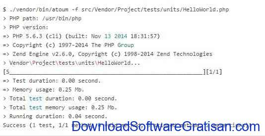 Framework Unit Testing Otomatis PHP Terbaik Atoum