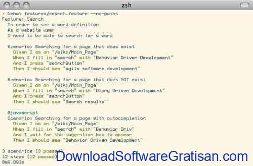 Framework Unit Testing Otomatis PHP Terbaik Behat