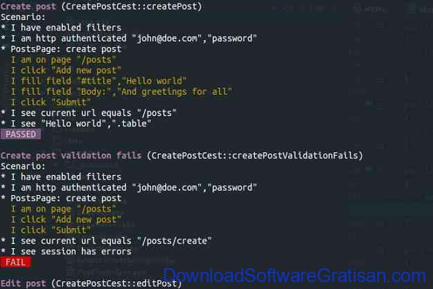 Framework Unit Testing Otomatis PHP Terbaik Codeception