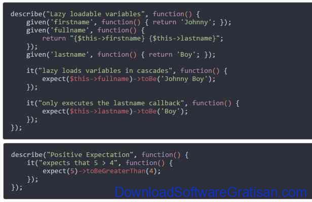 Framework Unit Testing Otomatis PHP Terbaik Kahlan