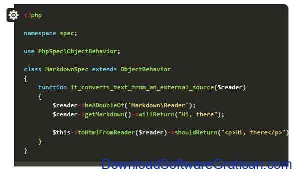Framework Unit Testing Otomatis PHP Terbaik PHPSpec