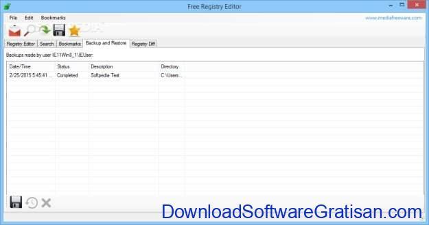 Free Registry Editor