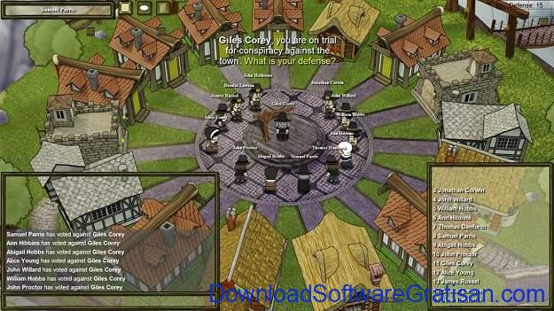 Game Alternatif Terbaik Among Us - Town of Salem