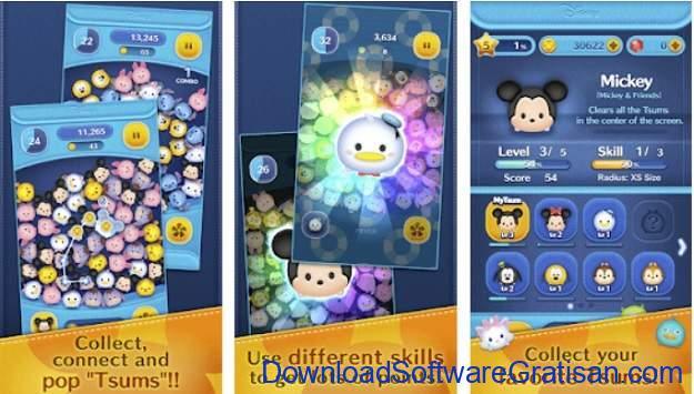 Game Android Terbaik dan Terpopuler di Dunia - Disney Tsum Tsum