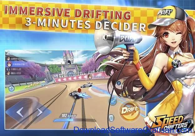 Game Android Terbaik dan Terpopuler di Dunia - QQ Speed Mobile (Speed Drifters)