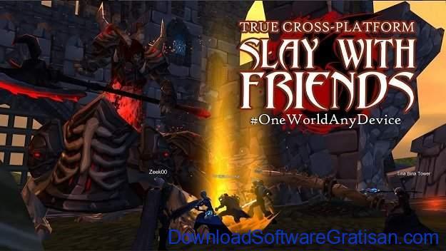 Game Android Terbaik yang Bisa Multiplayer AdventureQuest 3D