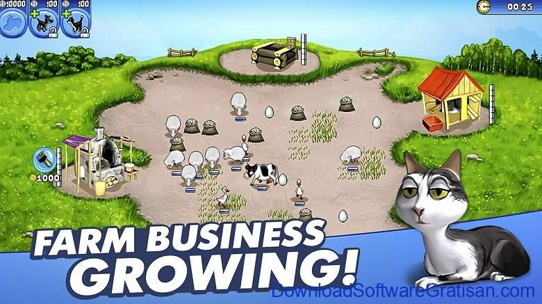 Game Berkebun Android Gratis Terbaik Farm Frenzy Free