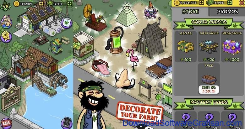 Game Berkebun Android Gratis Terbaik Pot Farm - Grass Roots