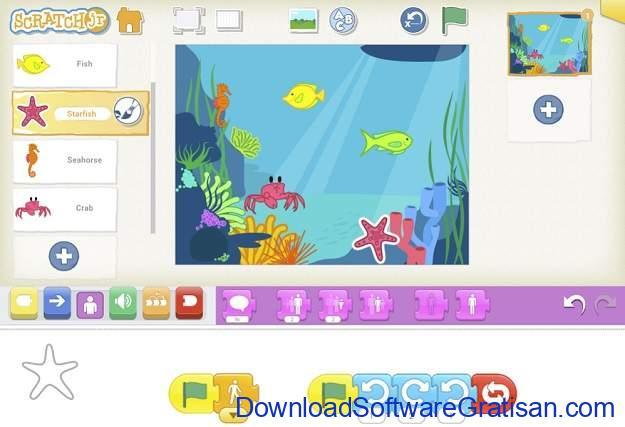 Game Edukasi Online Terbaik untuk Anak - ScratchJr