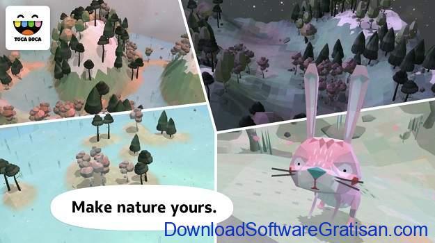 Game Edukasi Online Terbaik untuk Anak - Toca Nature