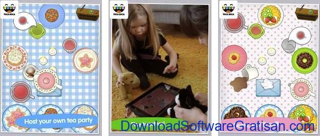 Game Edukasi Online Terbaik untuk Anak - Toca Tea Party