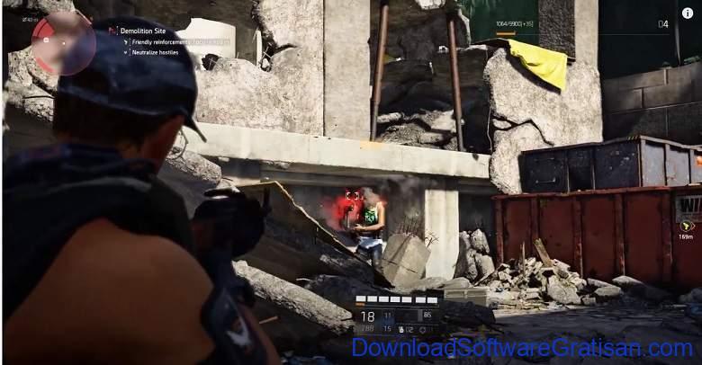 Game FPS dan menembak Terbaik di Xbox - Tom Clancys The Division 2