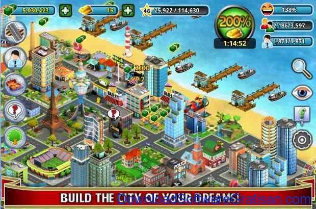 Game Membangun Kota & Desa Terbaik untuk Android City Island