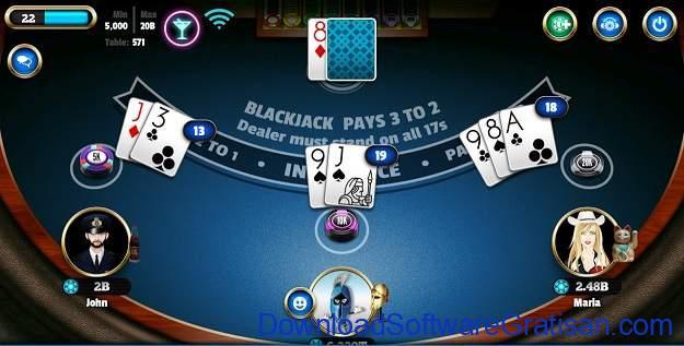 Game Kartu Gratis Terbaik untuk Android BlackJack 21