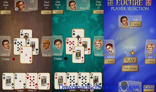 Game Kartu Gratis Terbaik untuk Android Euchre Free