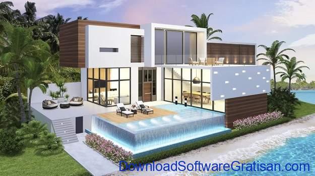 Game Menata Rumah Android Terbaik - Home Design Caribbean Life
