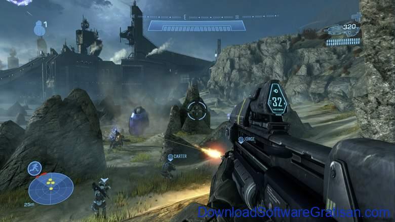 Game Menembak Terbaik untuk PC - Halo Reach