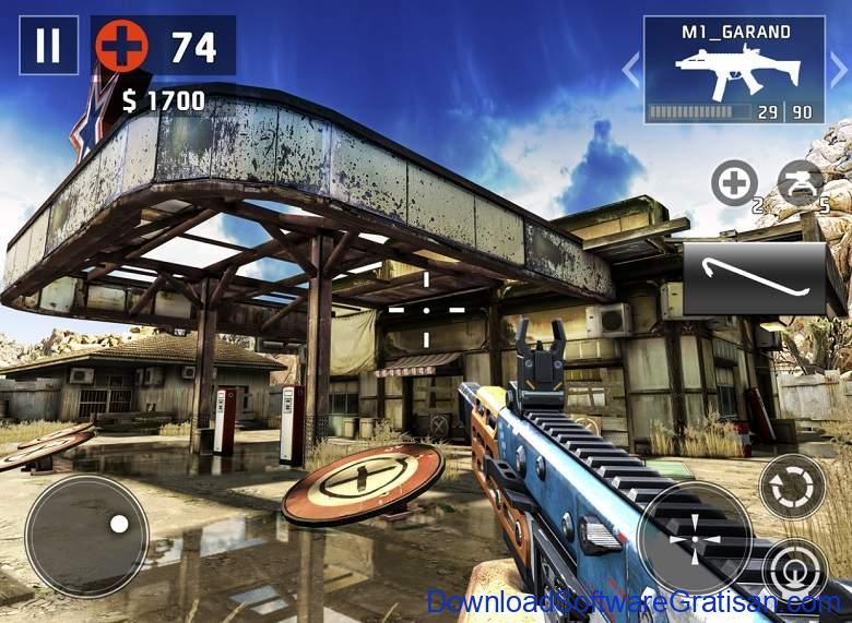 Game Menembak Terbaik untuk iPhone iPad - Dead Trigger 2