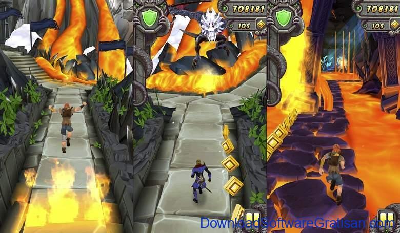 Game Offline Android Gratis Terbaik Temple Run 2